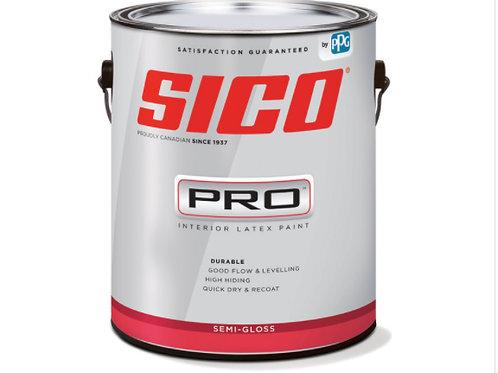 SICO Pro Semi-gloss White Gallon