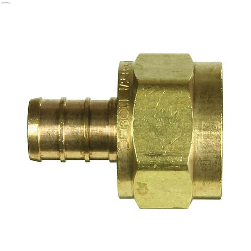 """3/4"""" Barb x FPT Brass PEX Adapter"""