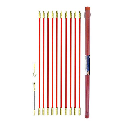 CABLE ROD SET 12PC 10 METER