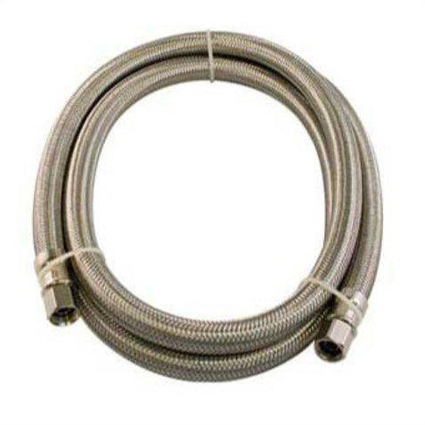 """FLEX CONNECTOR SS 1/4"""" COMP x 1/4"""" COMP 60 ICEMAKER LEAD FREE"""