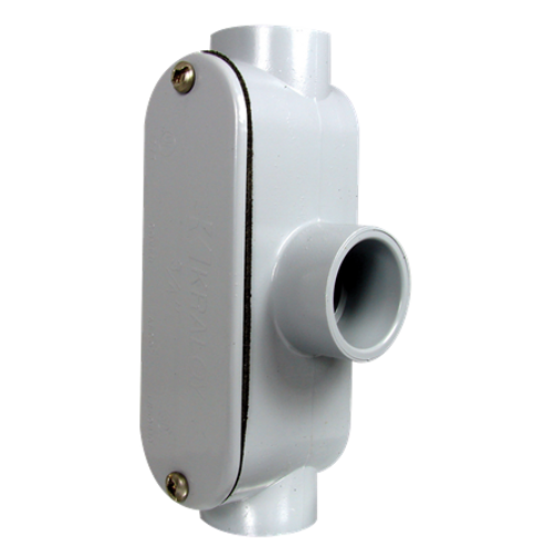 """1 2"""" pvc type T access fitting"""