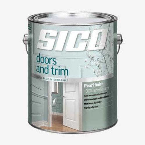 Sico Doors & Trim Pure White Gallon Paint
