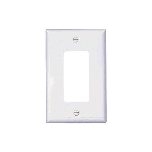 1 Gang,White Wall Plate