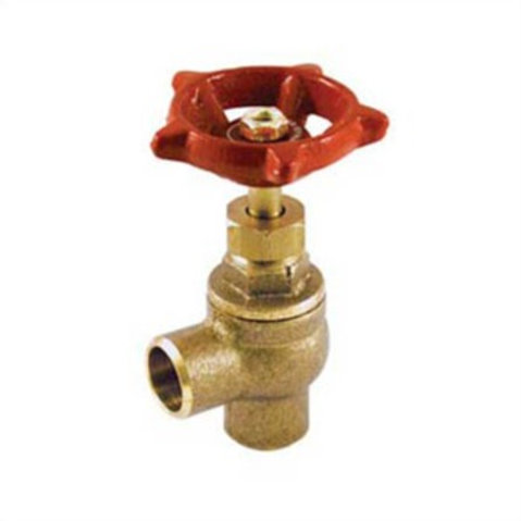 """STOP VALVE 1/2"""" ANGLE SOLDER LEAD FREE"""