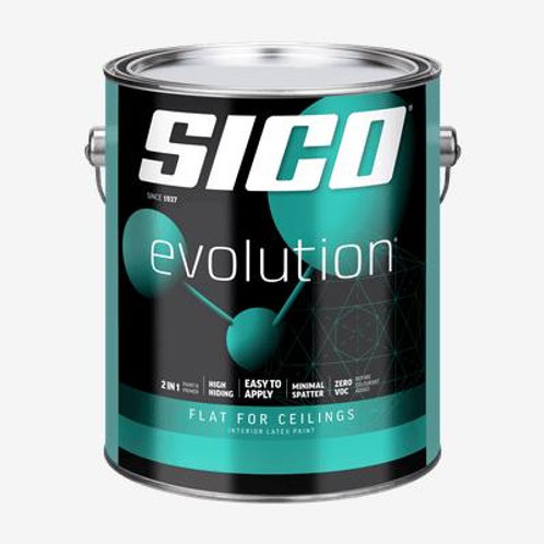 Sico Evolution Flat for Ceiling White Gallon Paint