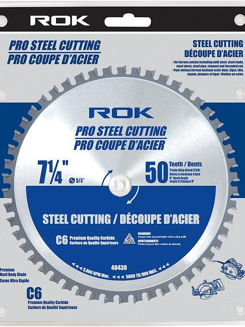 7 1/4 X50T STEEL CUTTING