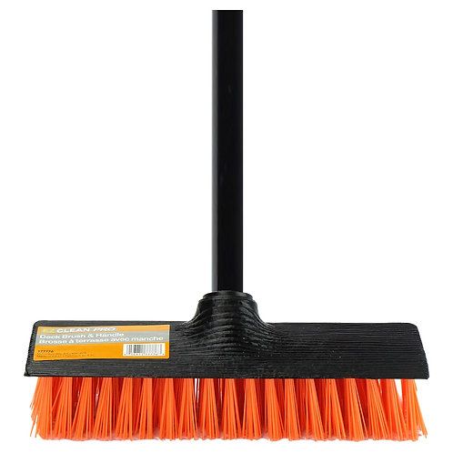 "9"" Deck Brush & Handle"