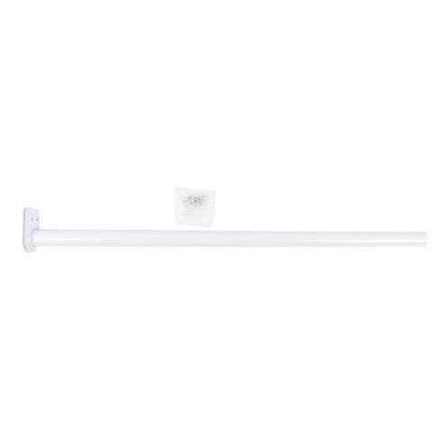 "CLOSET ROD ADJUSTABLE 18"" TO 30"" WHITE"