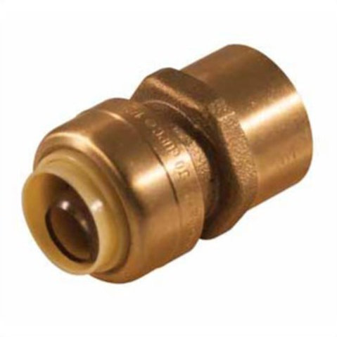 """PUSH-FIT FEMALE ADAPTER 1/2"""" PX 3/4"""" F LEAD FREE"""