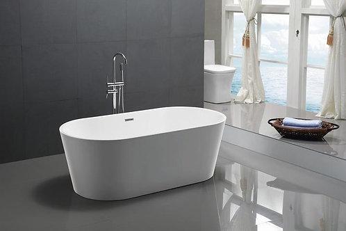(GLOSS WHITE) ALLURE ONE PIECE FREESTANDING BATHTUBS