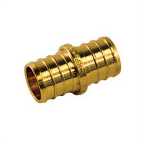 """PEX FITTING BRASS COUPLING 3/4"""" UPC-A LEAD FREE"""