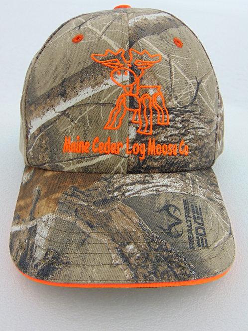 U.S. made Maine Cedar Log Moose Co. baseball hats w/3 colors available