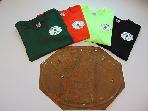 American made T-Shirts w/Pine Tree Trail logo