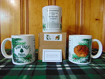 Commemorative Pine Tree Trail 11oz Coffee Mug Made in U.S.A.