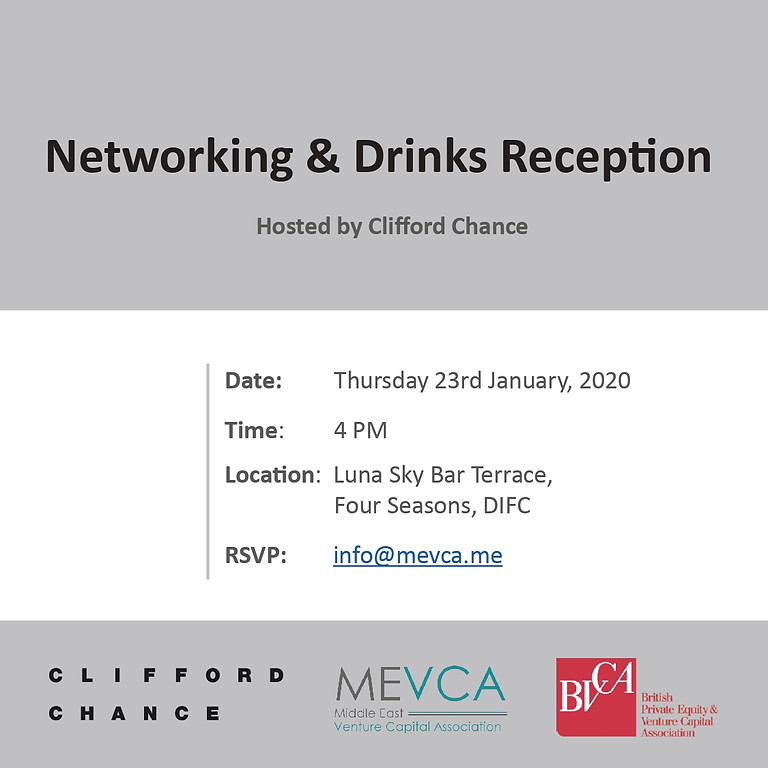 Networking and Drinks Reception