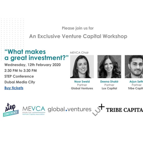 Exclusive Venture Capital Workshop