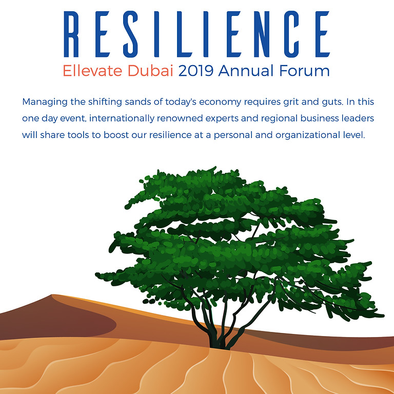 2019 Ellevate Dubai Annual Forum: Resilience
