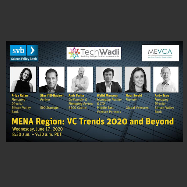 MENA Region: VC Trends 2020 and Beyond