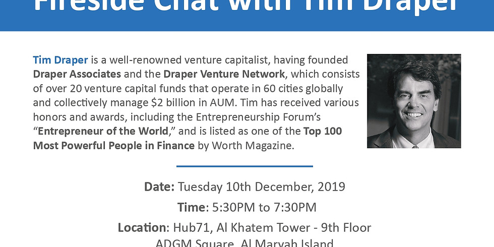 Fireside Chat with Tim Draper