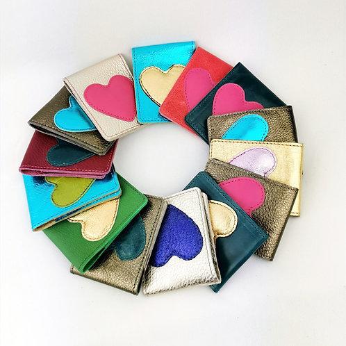 Heart Oyster/travel card holder/mini wallet