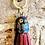 Thumbnail: Vintage Cloisonne Thimble Tassel key rings