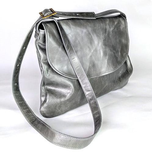 Minny satchel in fumo grey