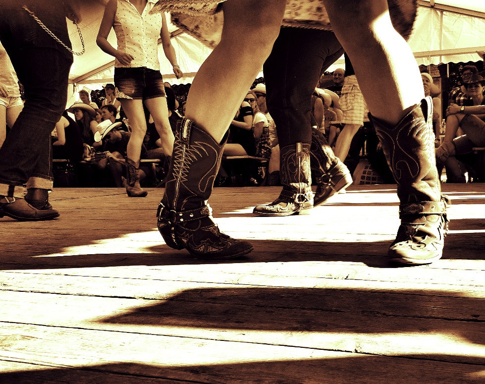 kavbojski ples, ples v vrsti, wild west, plesna šola, country