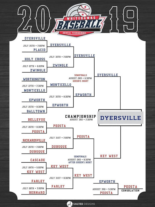 Dyesville Whitehawks Annual Tournament