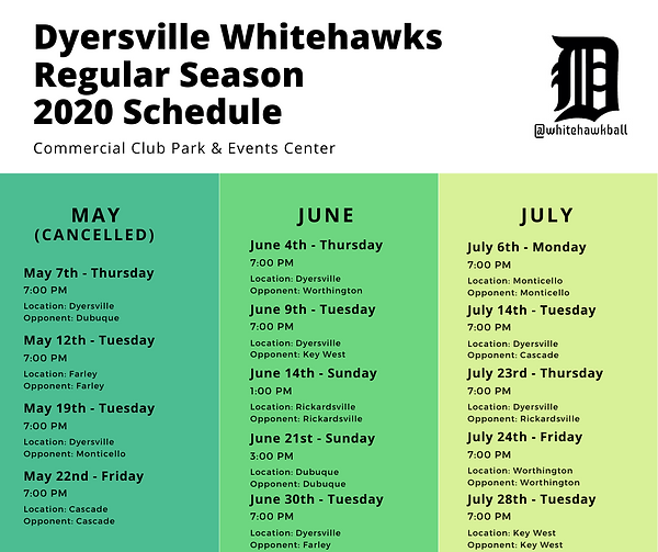 Whitehawks Baseball 2020 Schedule.png