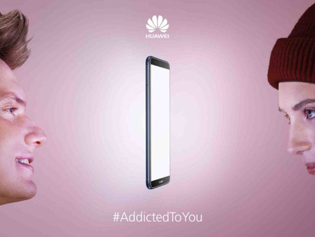 Huawei launched a new campaign, #AddictedToYou