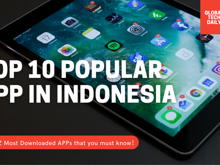 TOP 10 Most Popular Indonesia APP - TikTok Cash as rising star App!