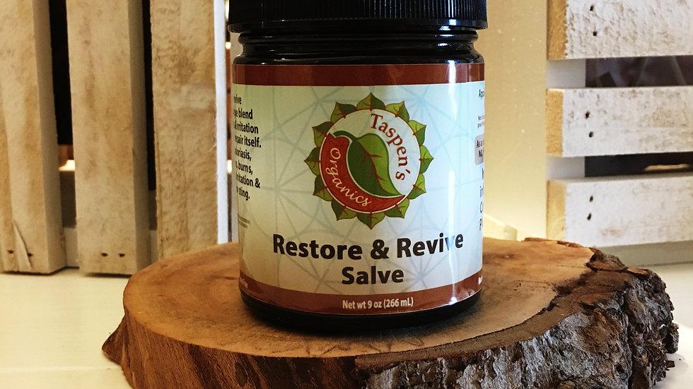 Restore & Revive Remedy Salve  9oz