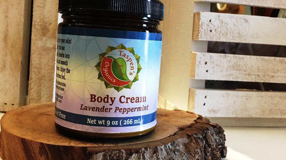 Body Creams Lavender Peppermint 9oz
