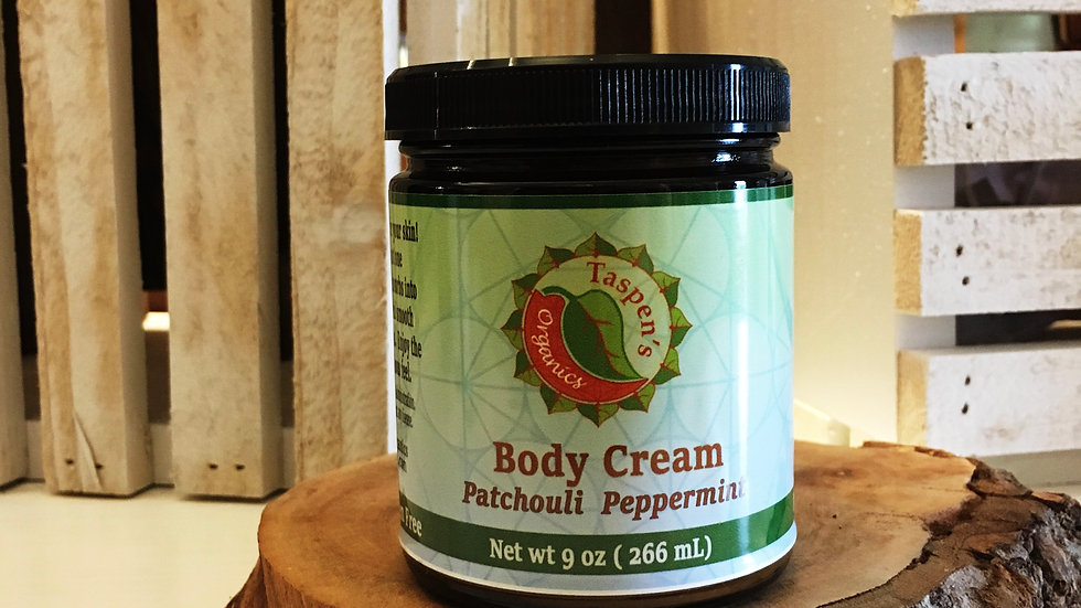 Body Creams Patchouli Peppermint 9ox