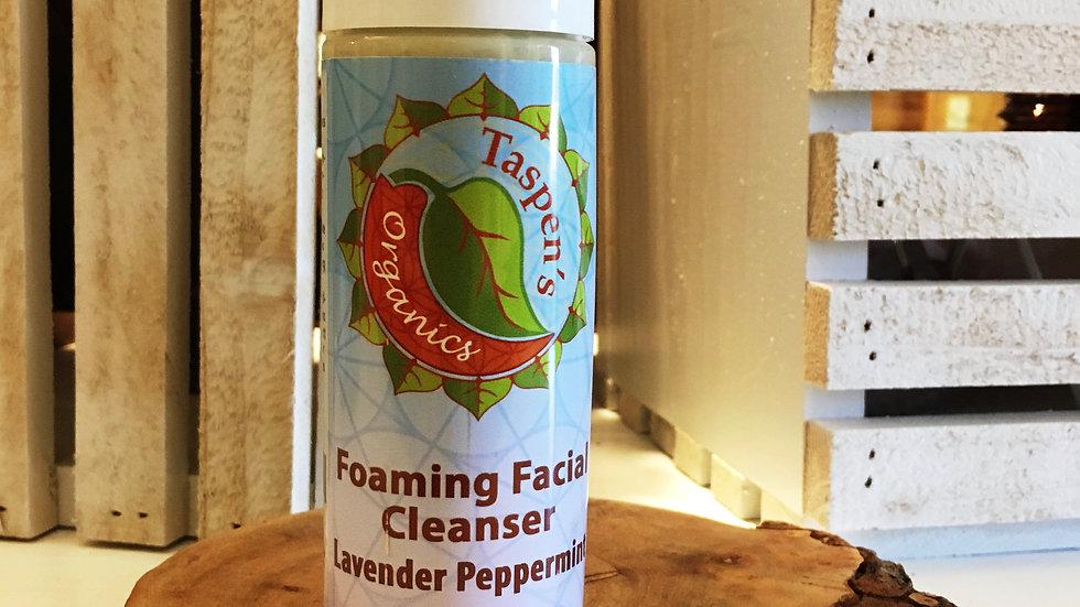 Lavender Peppermint Foaming Facial Cleanser 6oz