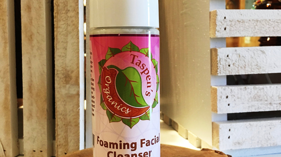 Rose Geranium Foaming Facial Cleanser 6oz