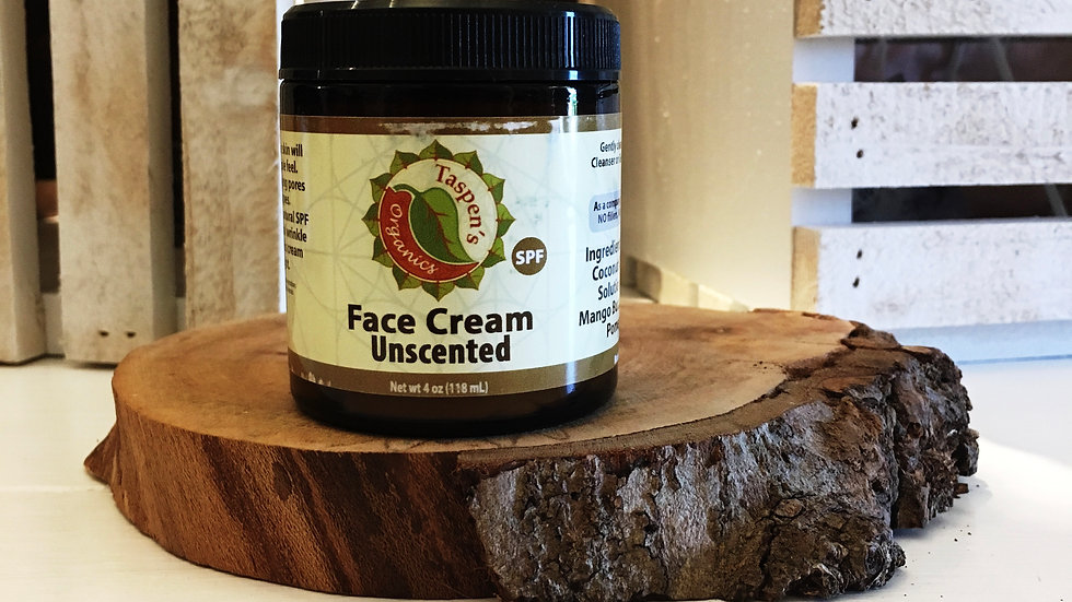 Facial Moisturizing Cream  Unscented 4oz