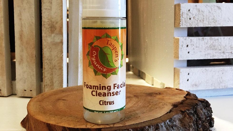 Citrus Foaming Facial Cleanser  2oz