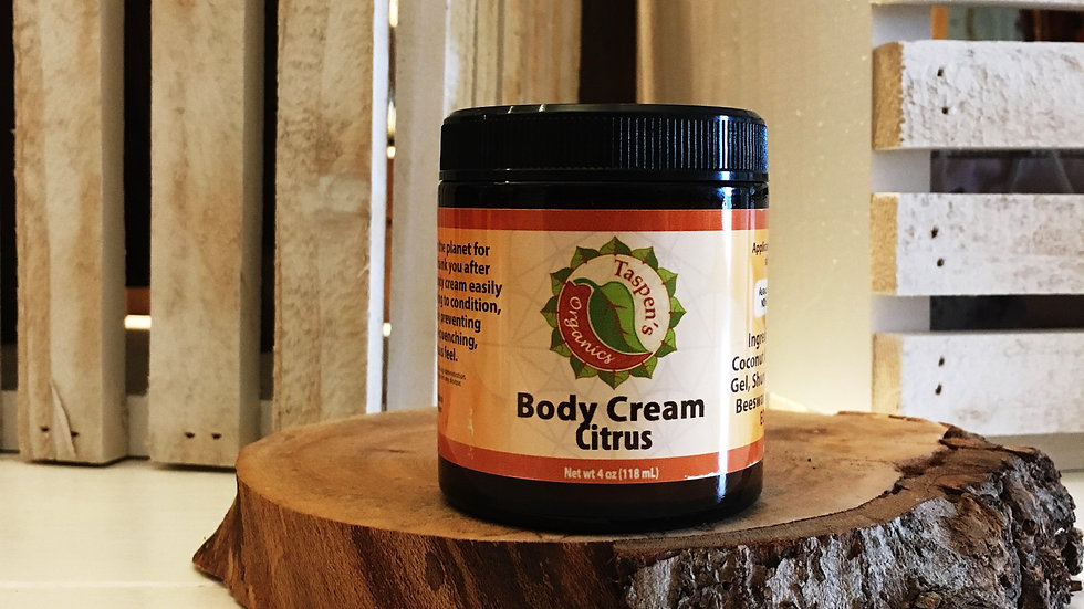 Body Creams Citrus 4oz