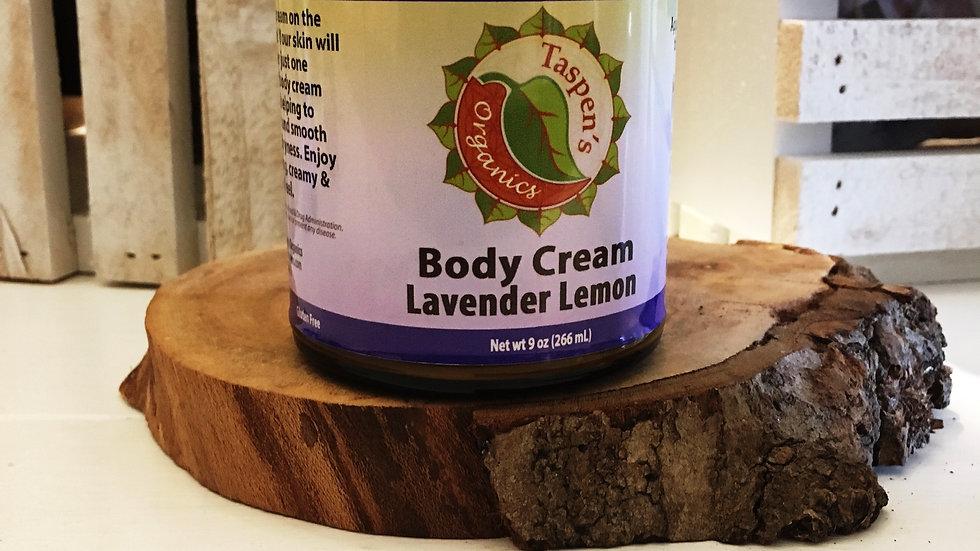 Body Creams Lavender Lemon 9oz