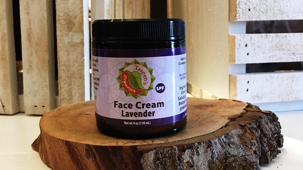 Facial Moisturizing Cream  Lavender 4oz