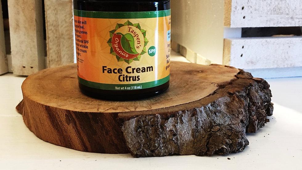 Facial Moisturizing Cream Citrus 4oz