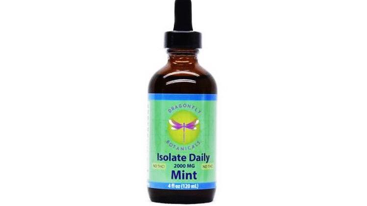 Dragonfly Botanicals Hemp Oil ISOLATE: Mint 4oz