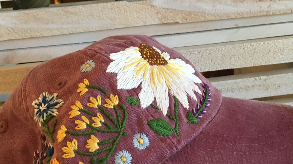 hand Embroidered hats