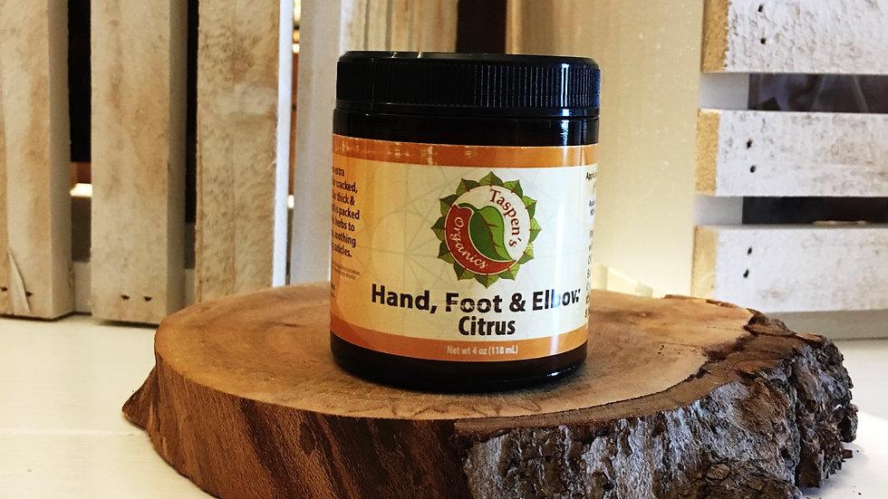 Hand, Foot & Elbow Cream Citrus 4oz