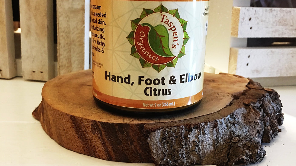 Hand, Foot & Elbow Cream Citrus 9oz