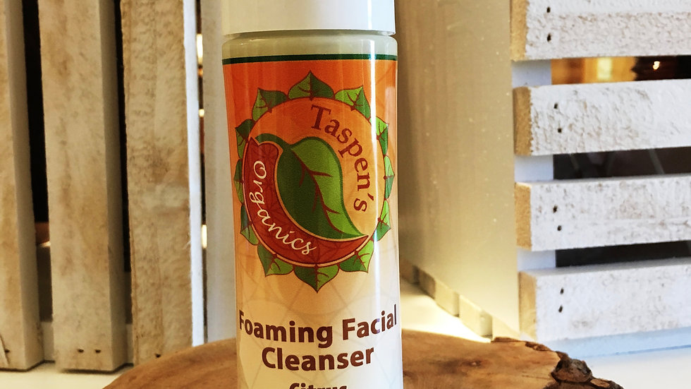 Citrus Foaming Facial Cleanser  6oz