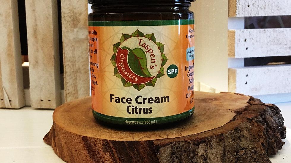 Facial Moisturizing Cream Citrus 9oz