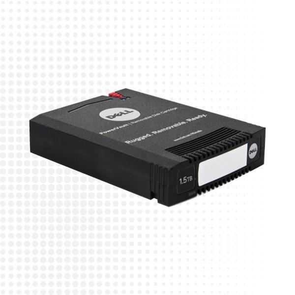 Medios de discos PowerVault RD1000
