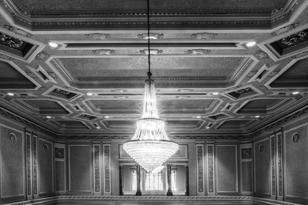 Chandelier at the Tivoli Theatre